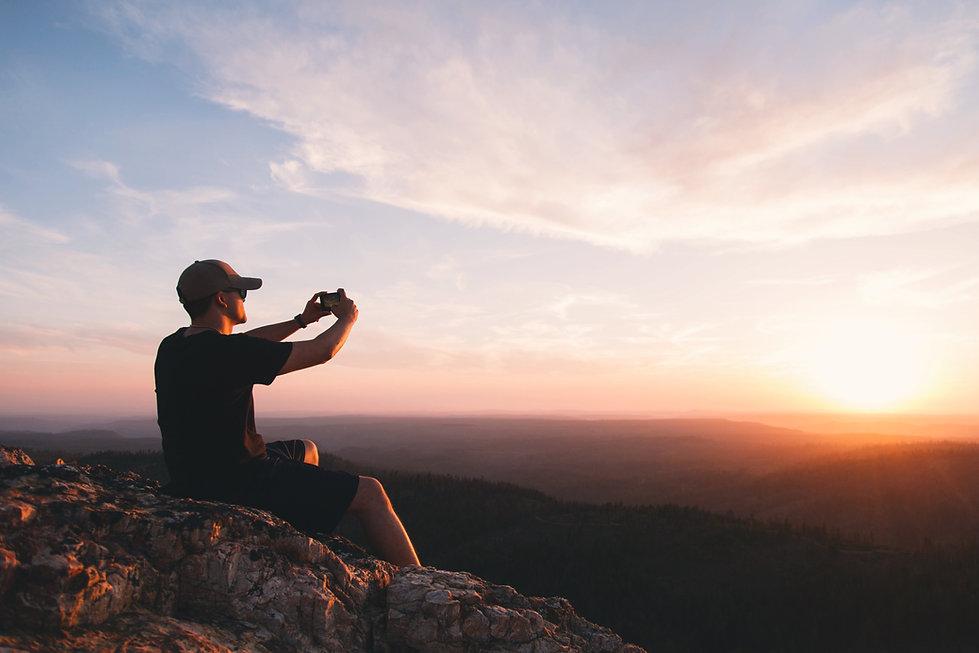 Fotógrafo do sol