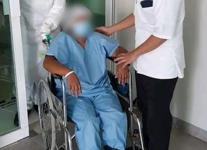 El día de su cumpleaños, paciente de COVID-19 recibe el alta en Hospital General de Apatzingán