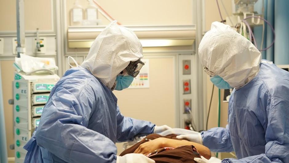 A la baja, ocupación hospitalaria de las áreas COVID-19 en unidades médicas de LC