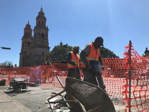 Gobierno de Morelia crece ciclopuertos en el centro histórico
