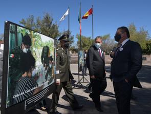 """Autoridades inauguraron exposición fotográfica """"Ejército y Fuerza Aérea"""", """"La Gran Fuerza de México"""""""