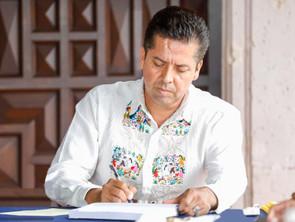CONSTANCIA DE ALFREDO RAMÍREZ MANCHADA POR LA INTROMISIÓN DE PODERES FÁCTICOS: SENADOR