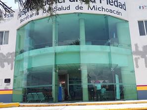 En Hospital General La Piedad ya no hay lugar para enfermos de COVID.