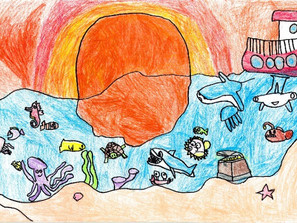 """Dan a conocer los resultados del Concurso de Pintura Infantil """"El niño y la Mar"""" 2020"""