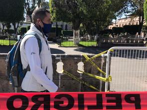 Cierre de plazas para generar conciencia ante pandemia de Covid: Gobierno de Morelia