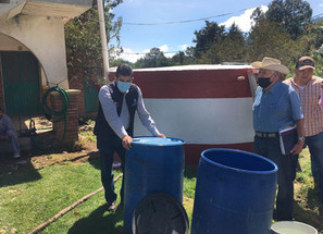 Habitantes de Cherán cumplen ya cuentan con agua potable