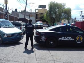 SSP rescata a mujer privada de su libertad en Morelia