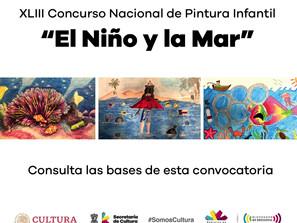 """Invitan a participar en el Concurso Nacional de Pintura Infantil """"El Niño y La Mar"""""""
