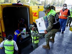 Recibe México décimo cuarto embarque con 487 mil 500 vacunas Pfizer-BioNTech