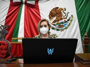 Congreso de Michoacán, fortalece marco legislativo a favor de las mujeres: Yarabí Ávila