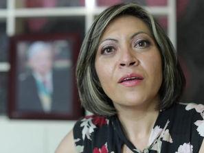 La regidora de Uruapan Mayra Xiomara Treviso renunció a su militancia del PRD y se sumó a Morón