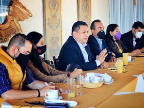 Diputados locales del PRD impulsan agenda legislativa ciudadana: Víctor Manríquez