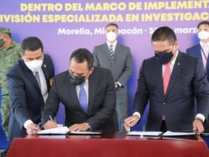 Fortalecen Fiscalía General y SSP vínculos para cerrar paso a la impunidad: Adrián López Solís