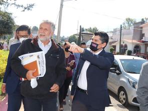 Unidad con gobierno federal y estatal para consolidar obras importantes en Zitácuaro: Toño Ixtláhuac