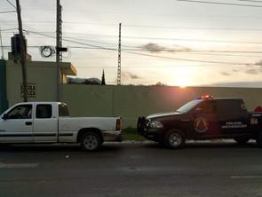 En filtro de inspección, asegura SSP a uno en posesión de camioneta robada