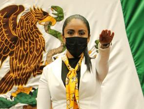 Unión de esfuerzos, inclusión y defensa de Michoacán, bandera del PRD en la LXXV Legislatura: Fanny