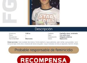Ofrece un millón de pesos tras detención de Diego Urik Mañón Melgoza.