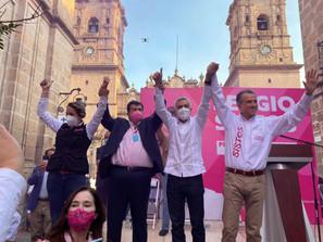 CANDIDATOS DE FUERZA X MÉXICO, LISTOS PARA LA BATALLA ELECTORAL