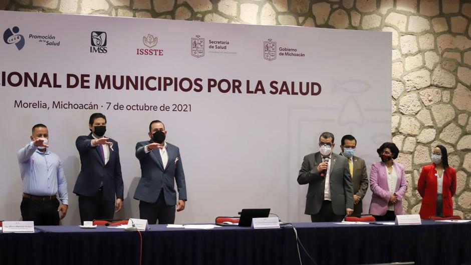 Reinstalan comité de la Red Jurisdiccional de Municipios de la Salud