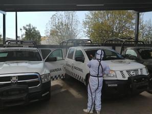Mantiene Gobierno de Morelia Jornadas de Sanitización alrededor del municipio