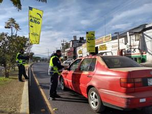 Con labores preventivas combate SSP al COVID-19 en municipios con Bandera Amarilla