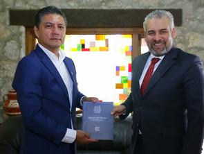 UMSNH Y GOBIERNO DEL ESTADO ACUERDAN ACCIONES EN BENEFICIO DE LA COMUNIDAD NICOLAITA