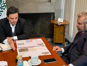 """Con Bedolla se oficializará traslado de oficinas centrales del IMSS a terreno del CERESO """"J. Múgica"""""""