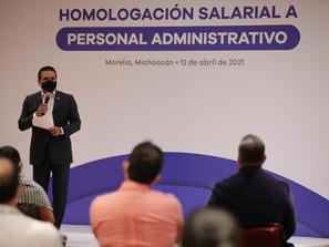 Histórica homologación salarial a trabajadores de SSM