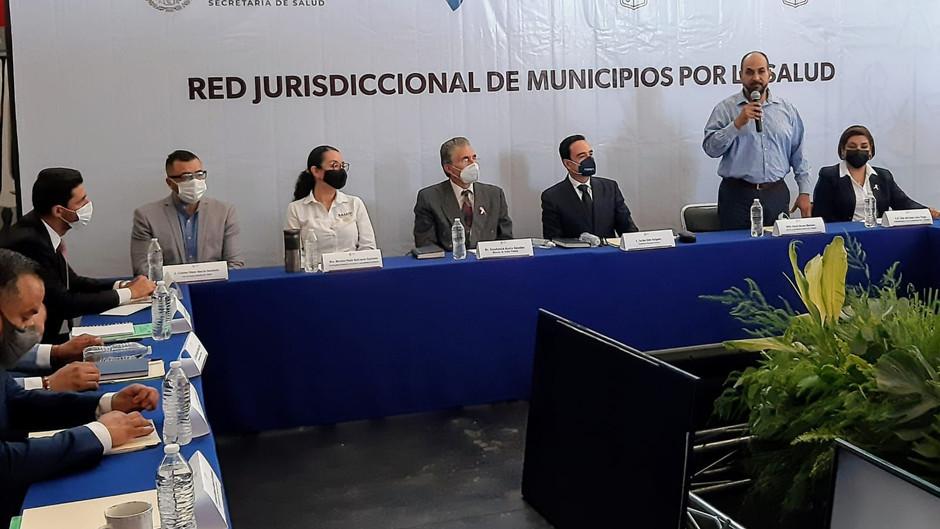 Instalan Red Jurisdiccional de municipios por la Salud en la región de Zamora