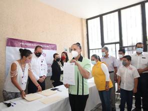 Entregó IEM constancia de mayoría por la diputación del Distrito 2 de Puruándiro a Julieta Gallardo