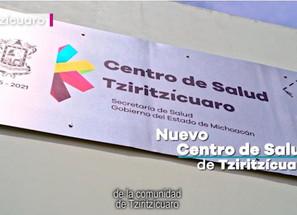 """""""La comunidad de Tziritzícuaro está muy contenta con el nuevo Centro de Salud"""""""