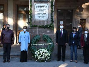 Ayuntamiento de Morelia rindió honores a Don Mariano Matamoros en su CCVII Aniversario Luctuoso