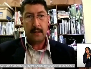 Exhorta Martin David Rodríguez a la SADER para que brinde asistencia gratuita a sector agropecuario