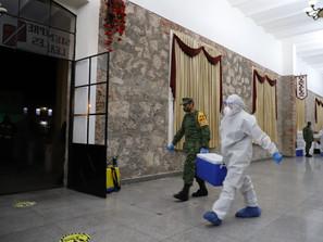 En Michoacán dispone SSM de 10 termos emergentes para vacuna anti COVID-19