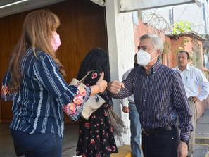 MICHOACANOS PLANTEAN A CRISTÓBAL ARIAS PROBLEMÁTICAS Y NECESIDADES