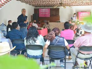 PROPONE CRISTÓBAL ARIAS POR LO MENOS CUATRO DEBATES POR LA GUBERNATURA