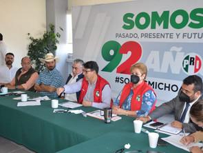 PRI mantiene firme su compromiso con las y los michoacanos