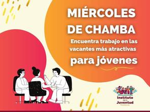 """Encuentra tu nuevo trabajo con """"Miércoles de Chamba"""" IJUM"""
