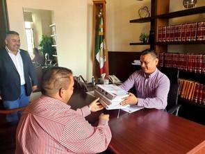 Respalda el Secretario de Gobierno, Carlos Torres Piña, obras en Tarímbaro