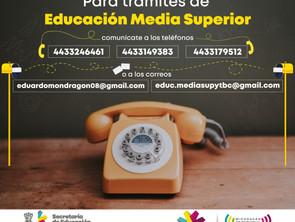 Pone SEE a disposición del público teléfonos y correos para realización de trámites administrativos