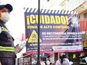 Agudizan en Zitácuaro medidas para contener COVID-19 ante incremento de mortandad.