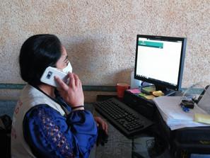 Servidores de la Nación continúan llamadas para vacunación en Morelia