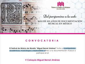 FMM lanza convocatoria para el V Coloquio Miguel Bernal Jiménez