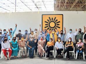 Junto con las bases, en Lázaro Cárdenas se fortalece la gira del PRD Michoacán #CaminoAl21