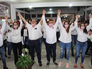 RSP ARRANCA CAMPAÑA POR ALCADÍAS Y DIPUTACIONES LOCALES DE MICHOACÁN.