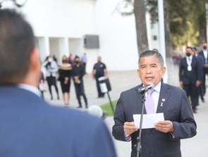 Titular de SSP toma protesta a nuevos funcionarios la institución