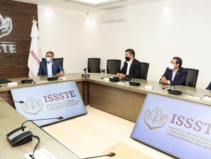 Entrega el SNTE al ISSSTE demandas de los trabajadores de la educación 2021