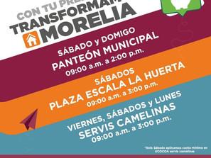Gobierno de Morelia invita a pagar predial también en fin de semana