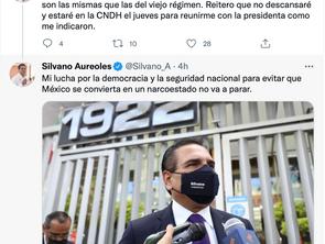 """""""Hoy en México el poder se usa para la persecución política"""": Silvano"""