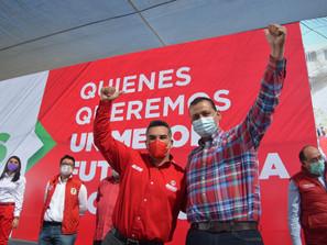 Inicia Memo Valencia su lucha revolucionaria por Morelia